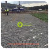 Schwarzes/weißes PET Plastikstraßen-System HDPE Bodenschutz-Matten/gute Qualität für Europa