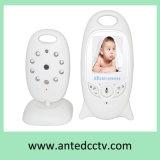 monitor video del bebé sin hilos 2.4GHz con la visión nocturna del control de la temperatura
