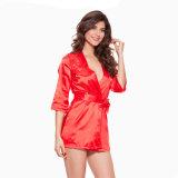 Nouvelle arrivée Hot Sale Hollow Out lingerie sexy robe de vêtements de nuit
