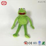 Kermit Plush Frog Funny Kids jouet cadeau de marionnette farcie