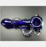 De blauwe Rokende Pijp van het Glas van de Vorm van het Oor van de Pijp van het Glas van de Terugwinning van de Filter
