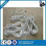 Поднимаясь слинг веревочки стального провода петли
