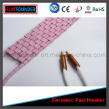 De industriële Flexibele Roze Ceramische Verwarmer Van uitstekende kwaliteit van het Stootkussen