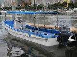 Aqualand 26.5футов 8m фибергласовых лодки Panga работы рыболовных катере водного такси пассажирского парома на лодке (265c)