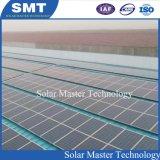 솔기 지붕 금속 지붕 죔쇠 설치 구조 태양 에너지 시스템