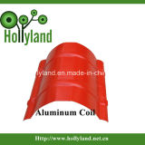 Enduit & bobine en aluminium gaufré