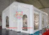 forte tenda gonfiabile della tenda foranea di qualità commerciale del PVC di 10mx7m con l'indicatore luminoso del LED