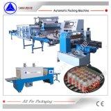 Machine à emballer collective de rétrécissement de bouteilles de Swsf 800