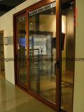 Алюминиевые стеклянные раздвижные двери