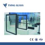 Effacer/couleur/Toughend/Low-E double vitrage verre creux de verre