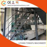 Pellets de madera de paja de biomasa de la línea de equipos de la planta de pélets de cascarilla de arroz