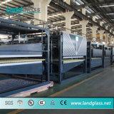 Landglass Plana e dobrados a linha de produção de vidro temperado