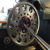Máquina de gravura da estaca do laser da tubulação e da câmara de ar do metal do CNC