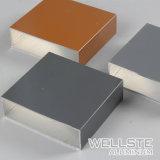 De Vierkante Buis van het Aluminium van het Profiel van de Ladder van het aluminium met Kleurrijke Oppervlakte