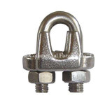 US type drop Forged carbon Steel Wire Rope tie-clip SR-j