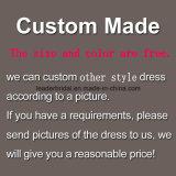 Платья вечера Bc1134 выпускного вечера Beaded кристаллический официально мантии серые изготовленный на заказ