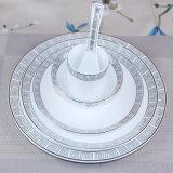 Ceramische Vaatwerk van China van het Been van het vaatwerk het In het groot