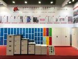 Garderobe 3 van het Kabinet van het Metaal van de Opslag van het Staal van de Kleur van de Fabrikant van China Multi Elektronische de Kast van het Ijzer van de Deur