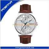 Het professionele Multifunctionele Dubbele Horloge van het Kwarts van het Horloge van de Tijd Zwitserse