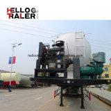 트레일러 60 톤 반 시멘트 탱크