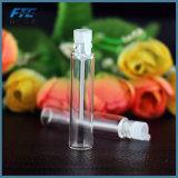2ml frasco de perfume muestras líquidas Tester botella de vacío jarrones rellenables