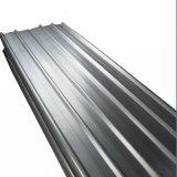lamiera di acciaio ondulata galvanizzata -0.8mm del tetto di 0.12mm