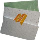 緑の背部ミネラルファイバーの天井のボード(セリウムの証明書、砂の送風)