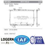 Radiador de autopeças para a Hyundai Sonata/Optima'98-04 em dpi: 2339