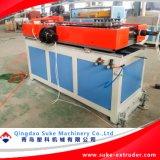 PE/PVC는 벽에 의하여 주름을 잡은 관 생산 밀어남 기계 선을 골라내거나 두배로 한다