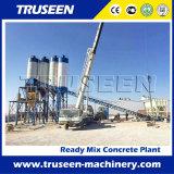 Planta Hzs35 de tratamento por lotes concreta com a máquina da construção do misturador da alta qualidade
