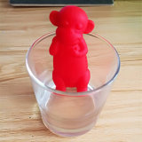 Monkey форма силиконового герметика Infuser дистанционного зондирования температуры для приготовления чая и сетчатые фильтры