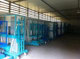 単一のマストの空気作業プラットホーム