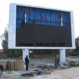 주조 알루미늄 내각 옥외 P10 발광 다이오드 표시 스크린을 정지하십시오