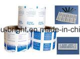El papel de aluminio con Surlyn para alcohol almohadilla Prep.