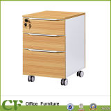 Mesa de oficina archivo contenedor de almacenamiento de la Oficina de madera sin ruedas