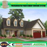 Rápido ensamblar la casa modular prefabricada/prefabricada ligera moderna del marco de acero