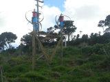 1000W de verticale Generator van de Wind met Zonne-energie