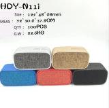 BluetoothおよびFMの布のスピーカーは、マイクロSDをサポートする