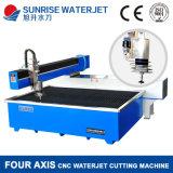 Tagliatrice Waterjet di formato del Ce di taglio d'acciaio popolare del certificato