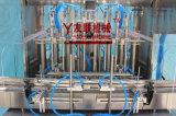 Macchina di rifornimento ad alta velocità lineare automatica 100-1000ml/Servo-Motor dell'inserimento della salsa dell'olio/crema/pomodori del miele dell'inserimento del pistone e della macchina di rifornimento di Liuid (GT8G-8G)