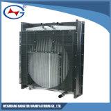 Radiador de aluminio del intercambio de calor del radiador del radiador de Wd327tad82-3 Genset