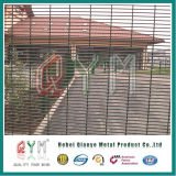 Maille de la frontière de sécurité 358 de haute sécurité clôturant la frontière de sécurité de treillis métallique de /Welded