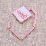 ロゴのギフトの金属のPintingのカスタムエポキシの折る財布袋のハンガー(KQ-BH-01)