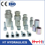 De alto rendimiento Medium-Pressure neumática e hidráulica7241-1ISO de acoplamiento rápido (A)