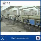 Chaîne de production simple à haute production de pipe du PE pp de vis