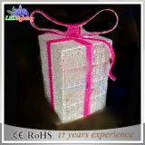 Luz impermeable de la cadena del rectángulo de regalo del jardín al aire libre LED de la decoración del día de fiesta