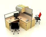 Estação de trabalho modular de divisão de alta divisão de escritório moderna (HF-YZ093)