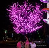 Lumière extérieure d'arbre de saule de la décoration DEL d'hôtel de rue de Noël