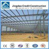 Edificio de acero ligero de la fábrica de la construcción