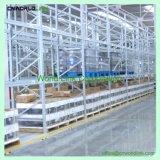 頑丈な多層パレットのための圧延の鋼鉄倉庫によって電流を通されるラック